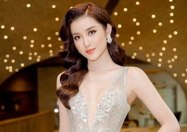 """Huyền My xinh đẹp, lộng lẫy như công chúa trong buổi thử váy dạ hội, áo dài cho """"Miss Grand Internation 2017"""""""
