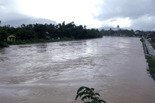 Tin lũ khẩn cấp trên các sông từ Quảng Ngãi đến Khánh Hòa