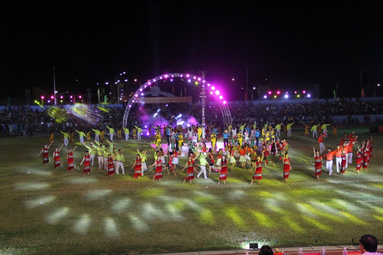 Khai mạc văn hóa - thể thao các huyện miền núi lần thứ 19 tỉnh Quảng Nam